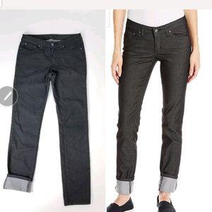 """Prana Womens Kara Jeans Size 6 Waist 30"""" Black"""